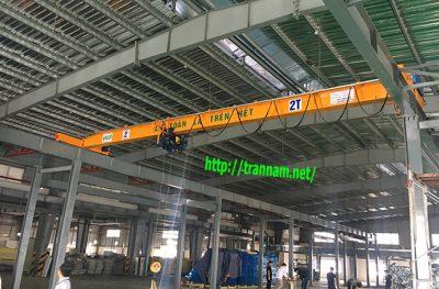 Lắp cầu trục đơn chất lượng tại Nghệ An