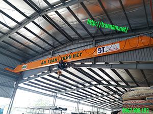 Cầu trục dầm đơn 5 tấn tại Bắc Giang.