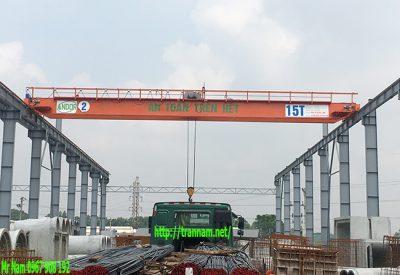Cầu trục 15 tấn tại KCN Song Khê - Bắc Giang
