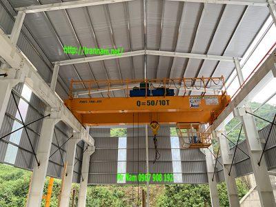 Cầu trục tại KCN Vân Trung -Bắc Giang