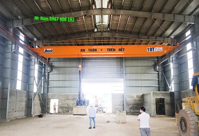 Lắp cầu trục dầm đôi tại Bắc Ninh