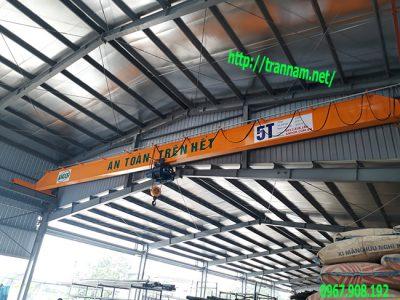 Cầu trục đơn 5 tấn tại Bắc Giang