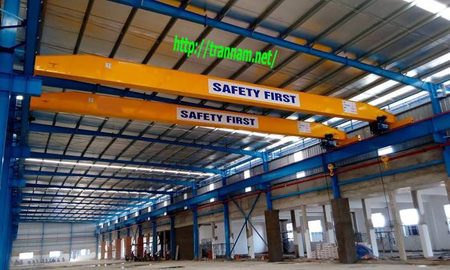 Lắp cầu trục 5 tấn tại Quảng Ninh