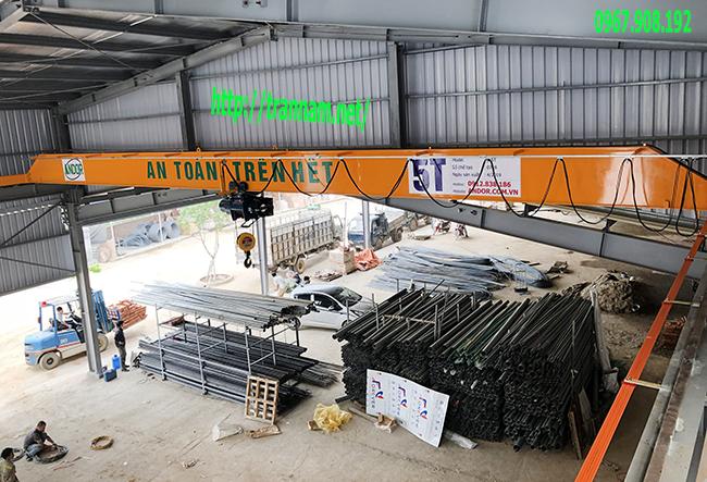 Lắp cầu trục chất lượng tại Cao Bằng