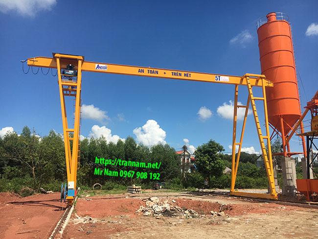 Lắp cổng trục tại Lạng Sơn