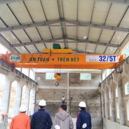 Cầu trục dầm đôi 32/5 tấn