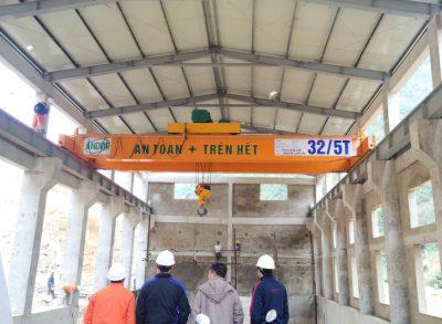 Lắp đặt cầu trục 30 tấn