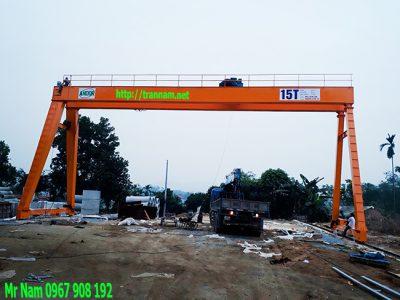 Lắp đặt cổng trục tại Cao Bằng.