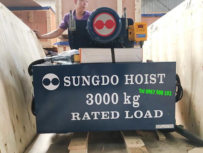 Palang cáp điện 3 tấn