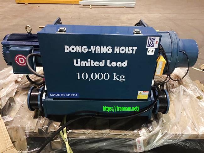 Palang dầm đôi 10 tấn