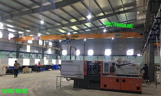 Cung cấp cầu trục 3 tấn tại Hà Nam