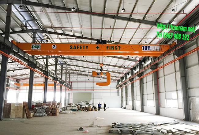 Cầu trục 10 tấn tại Đĩnh Vũ - Hải Phòng