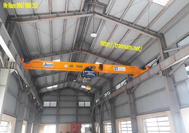 Lắp đặt cầu trục 3 tấn tại Thanh Hóa