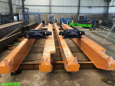 Chế tạo dầm cầu trục 5 tấn