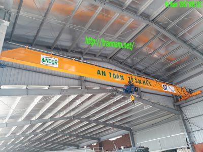 Lắp đặt cầu trục 5 tấn tại Tuyên Quang