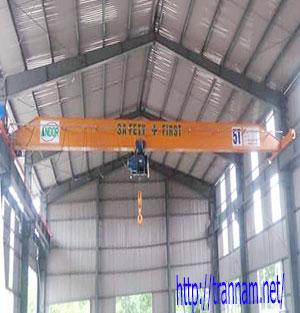 Cầu trục 5 tấn dầm đơn tại Điện Biên