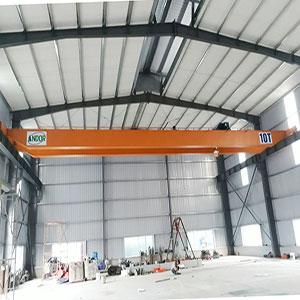Lắp đặt cầu trục dầm đôi 10 tấn
