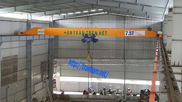 Cầu trục dầm đơn tại Quảng Ninh