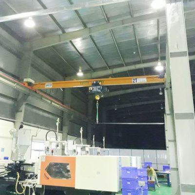 Cầu trục dầm đơn 2 tấn tại KCN Phúc Khánh – Thái Bình