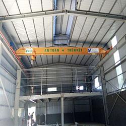 Cầu trục dầm đơn 5 tấn tại Nghệ An.