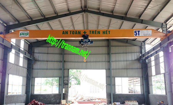Cầu trục 5 tấn tại Nghệ An