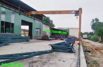 Lắp đặt bán cổng trục dầm đơn 3 tấn