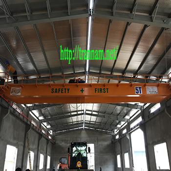 Lắp cầu trục 5 tấn cho nhà xưởng