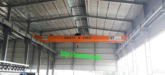Chế tạo cầu trục 10 tấn tại Thái Nguyên