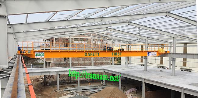 Cung cấp cầu trục 5 tấn tại Thái Nguyên