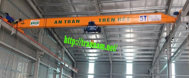 Chế tạo cầu trục tại Hưng Yên