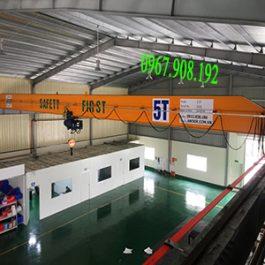 Cầu trục dầm đơn 5 tấn – Thuận Thành – Bắc Ninh