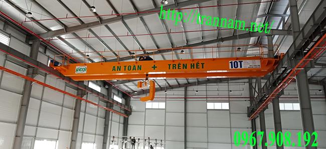 Giá cầu trục 10 tấn, khẩu độ 18m