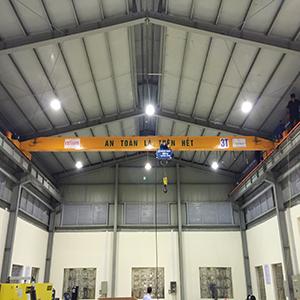 Cầu trục dầm đơn 3 tấn tại Sơn Tây – Hà Nội