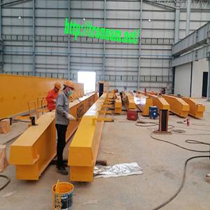 Lắp cầu trục đôi 5 tấn tại Thái Bình, Ninh Bình, Nam Định