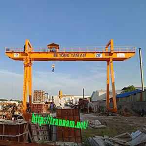Chế tạo cổng trục dầm đôi 20 tấn tại Hưng Yên