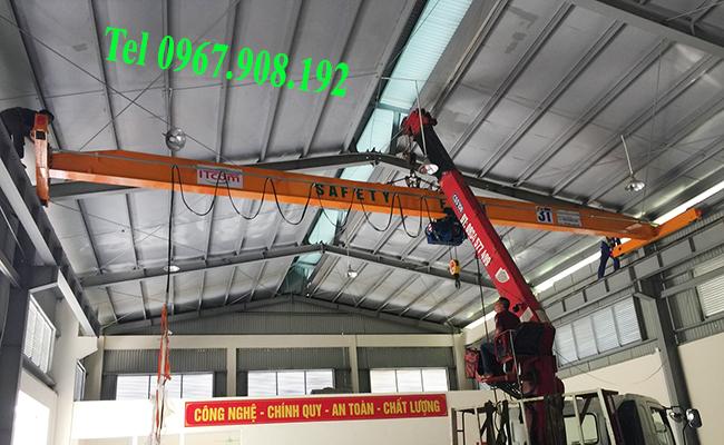 Lắp cầu trục 3 tấn tại Hà Nội