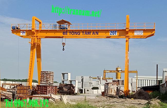 Lắp cổng trục tại Hưng Yên