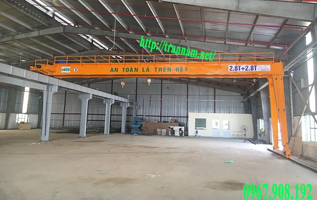 Cung cấp bán cổng trục trong nhà máy