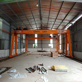 Cổng trục dầm đôi 2 x 2.8 tấn, tại Thủy Nguyên – Hải Phòng