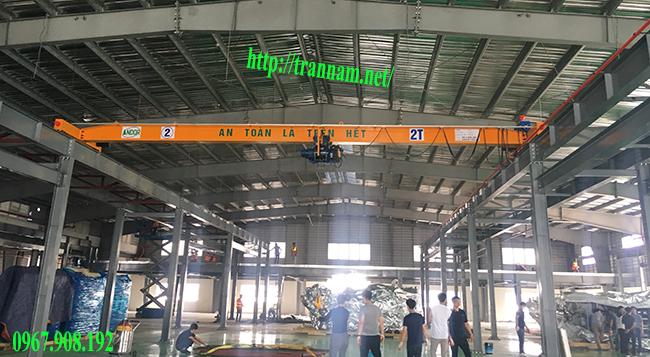 Lắp cầu trục tại Thanh Hóa