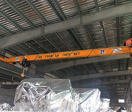 Chế tạo cầu trục đơn 2 tấn tại Bỉm Sơn – Thanh Hóa