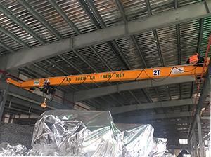 cầu trục chất lượng tại Thanh Hóa