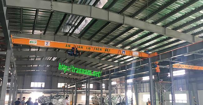 Chế tạo cầu trục tại Thanh Hóa
