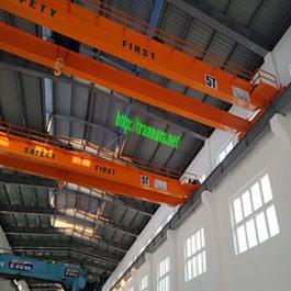Cầu trục dầm đôi 5 tấn tại Cẩm Thủy – Thanh Hóa