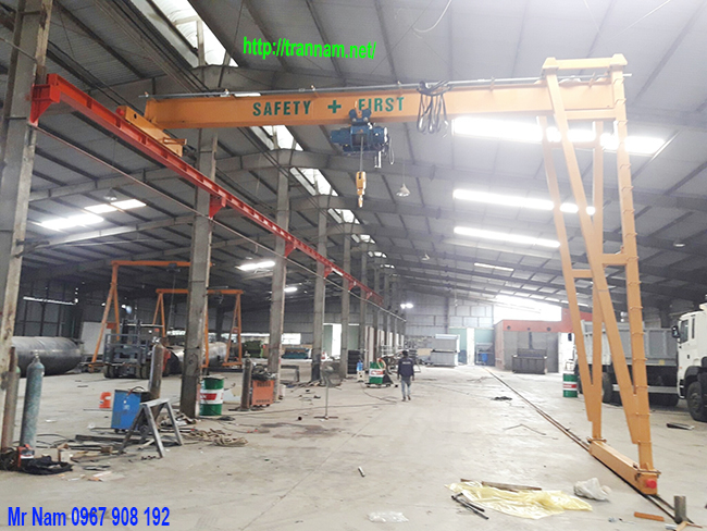 Chế tạo Bán cổng trục dầm đơn 2 tấn