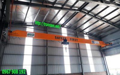Lắp cầu trục 5 tấn tại Tuyên Quang