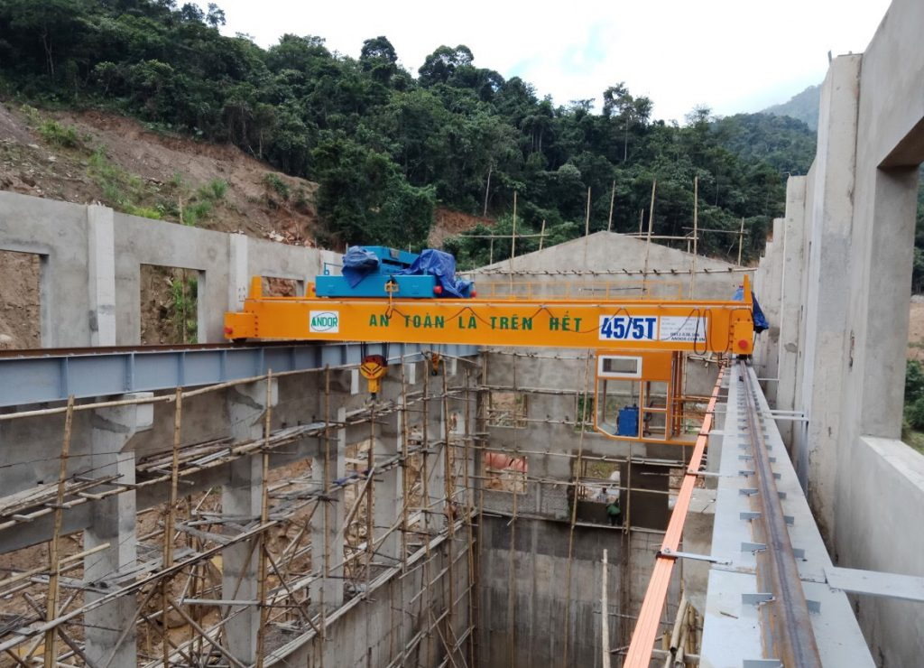 Cầu trục dầm đôi 45 tấn