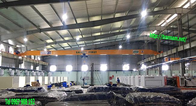 Chế tạo cầu trục đơn 3 tấn tại Nga Sơn Thanh Hóa