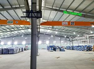 Chế tạo cầu trục 3 tấn tại Thanh Hóa