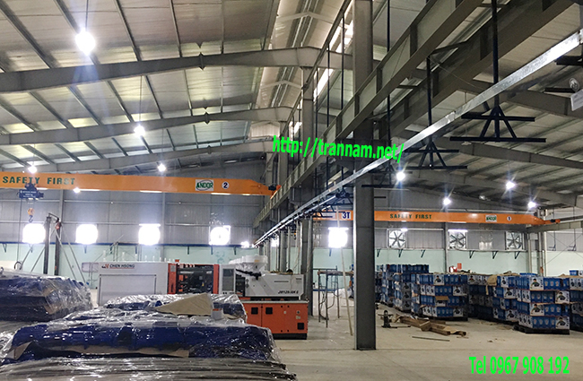 Lắp cầu trục 3 tấn tại huyện Nga Sơn Thanh hóa